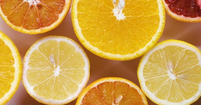 lemons and oranges