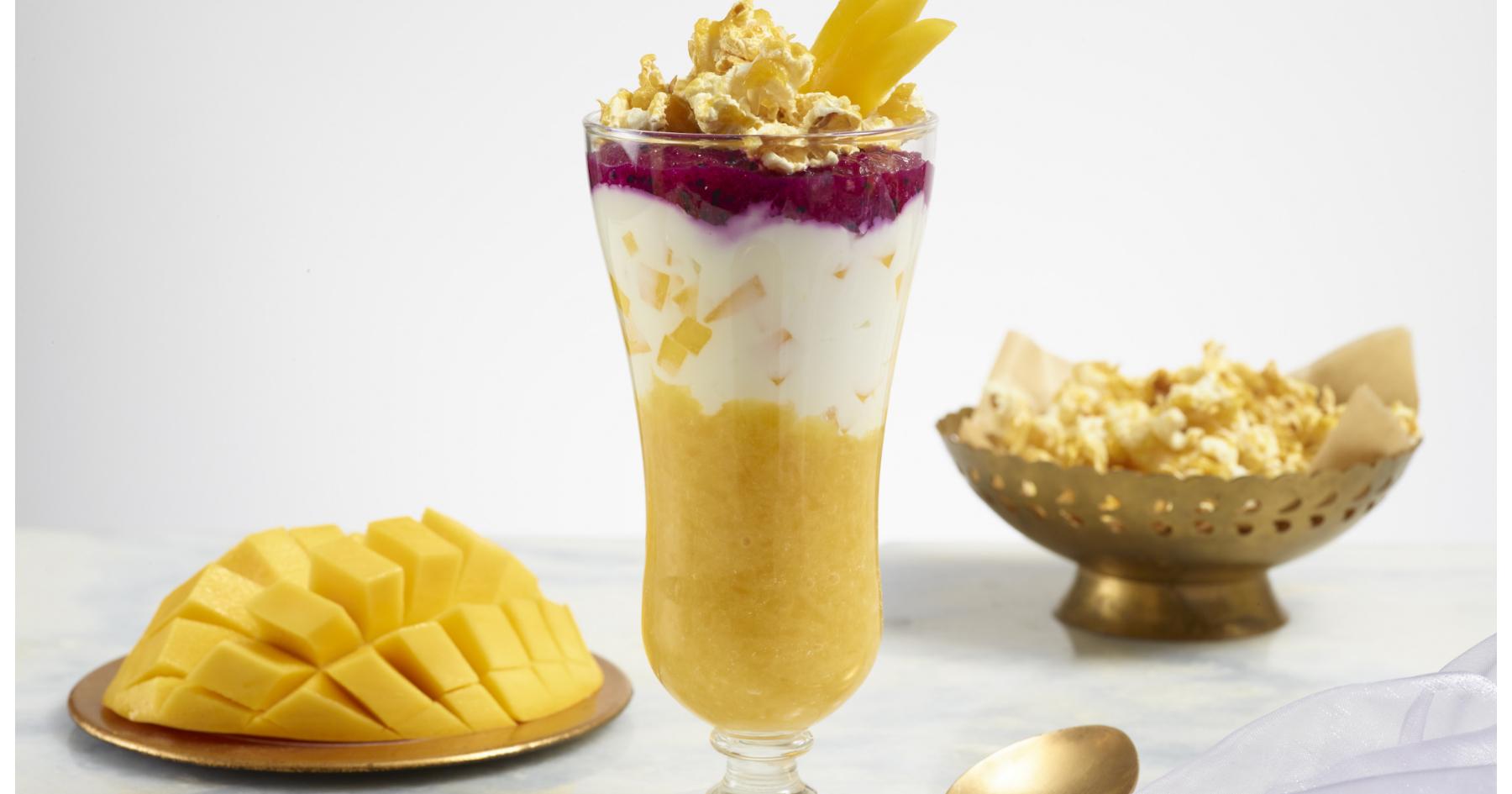 Mango Labneh Parfaits