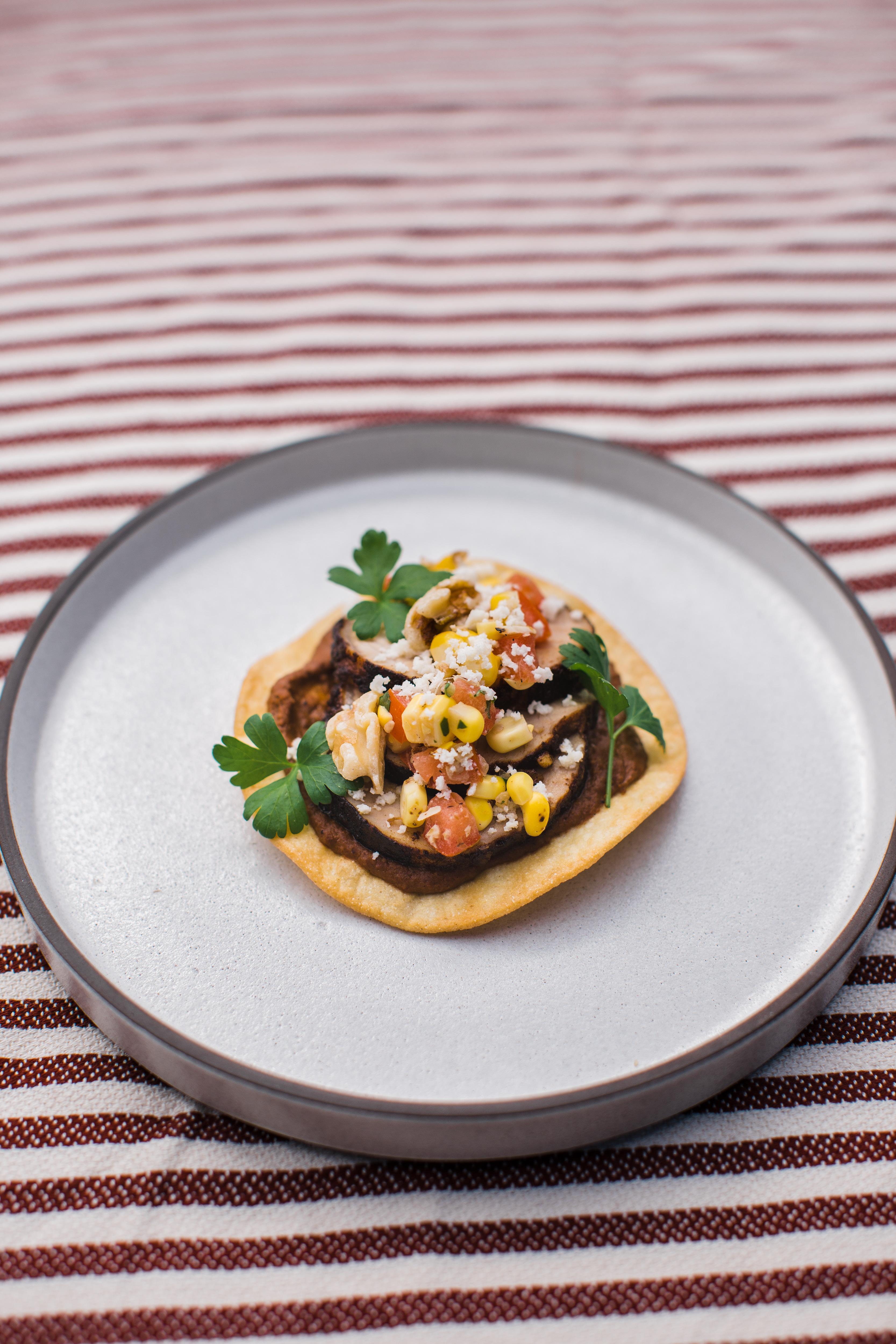 Walnut Chocolate Mole Tacos