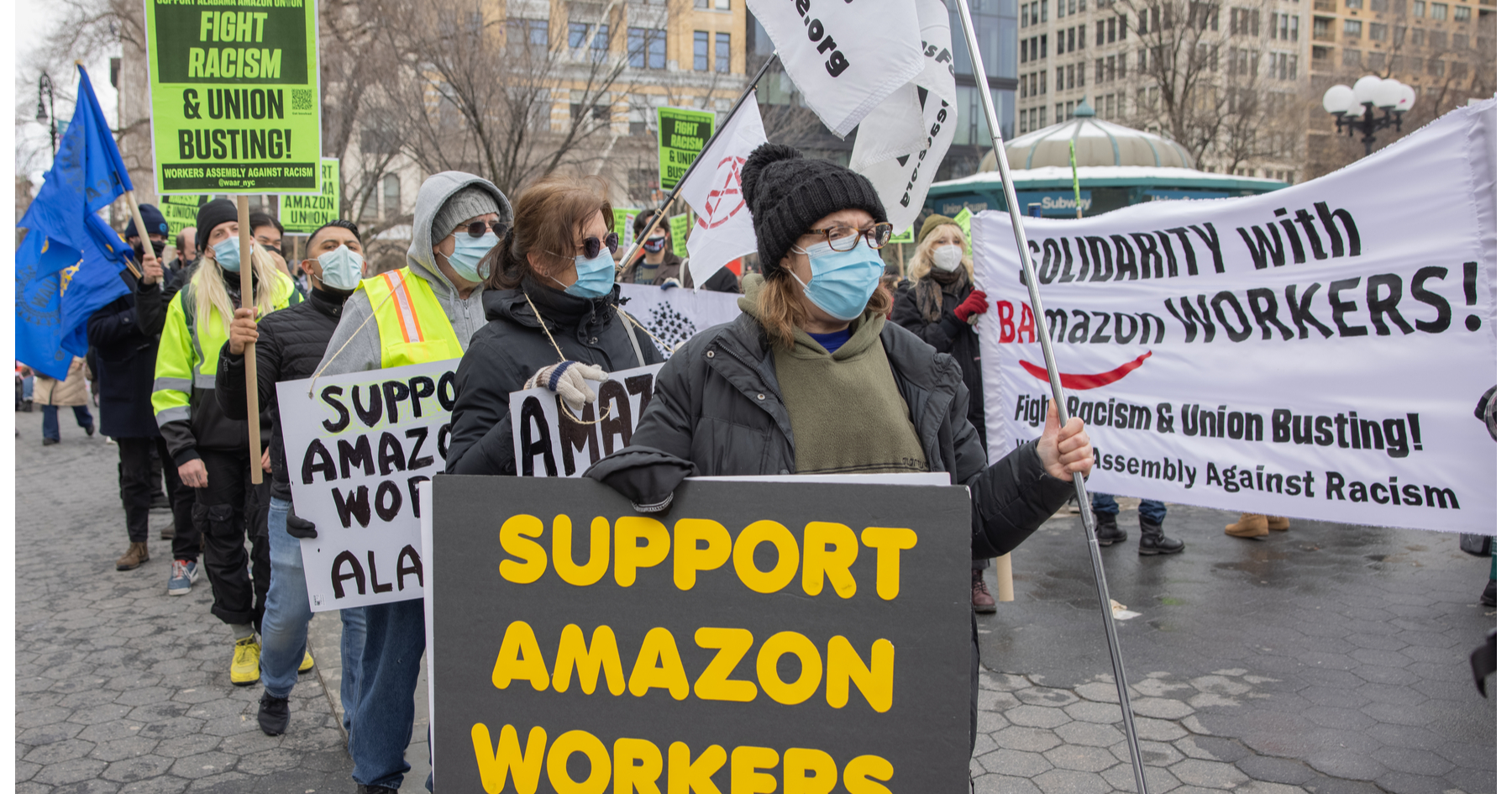 Why restaurants should care about Amazon's union vote