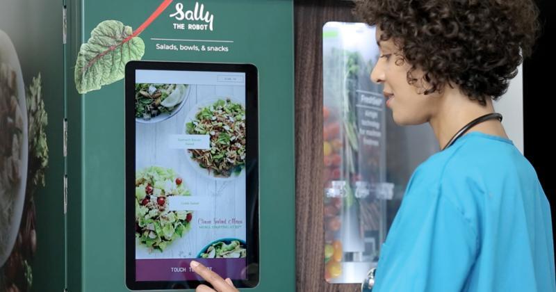Sally the Salad Robot