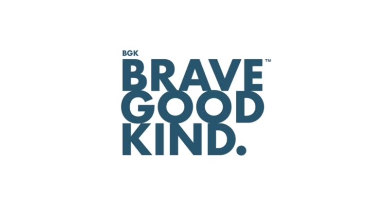 Brave Good Kind logo