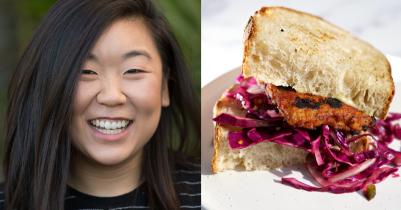ELM Foods co-founder Melissa Williams and one of the site's featured recipes