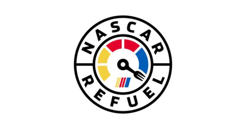 NASCAR refuel logo