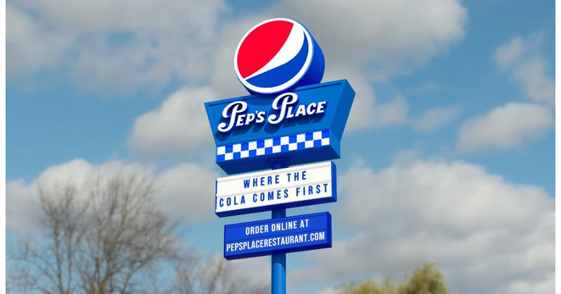 Pep's Place sign
