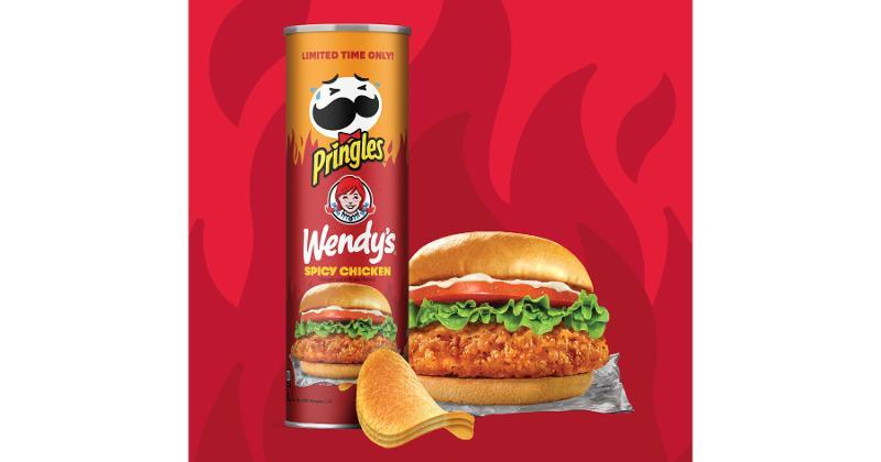 Pringles Wendy's Spicy Chicken