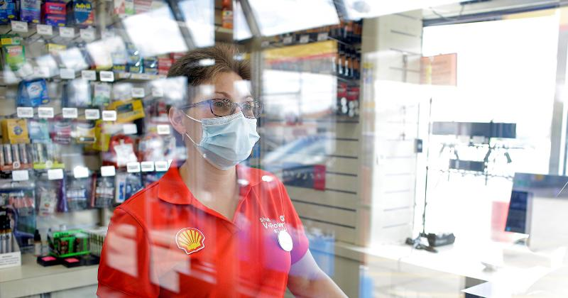 Convenience-store employee
