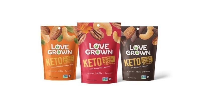 Love Grown Foods Keto Granola