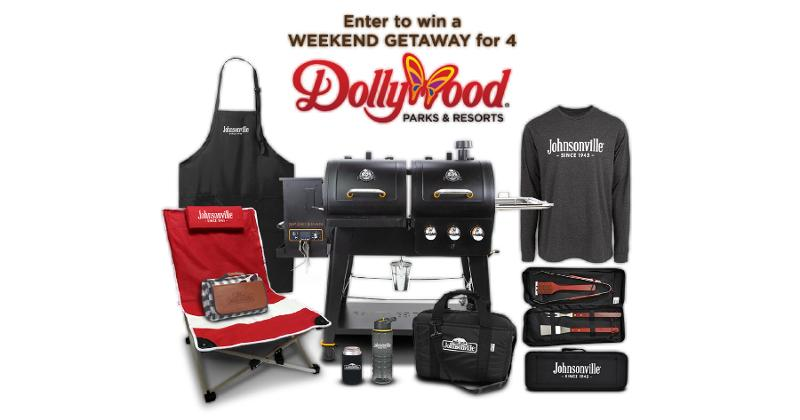 Dollywood trip promotion with Johnsonville