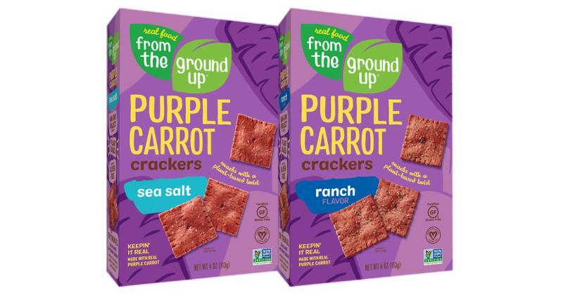 Purple Carrot Crackers