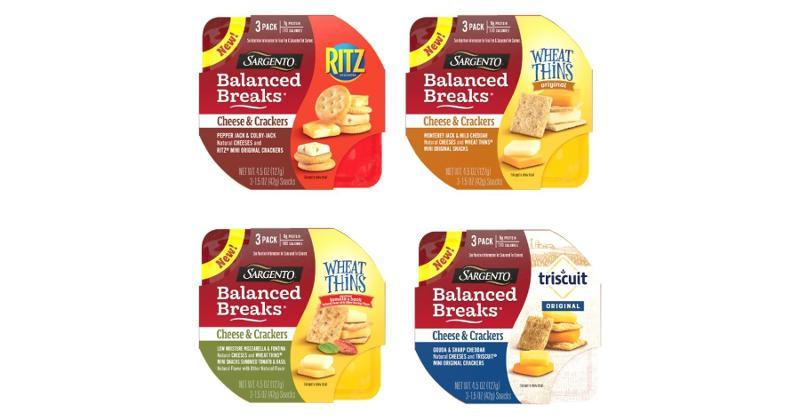 Sargento Balanced Breaks Cheese & Crackers Snacks