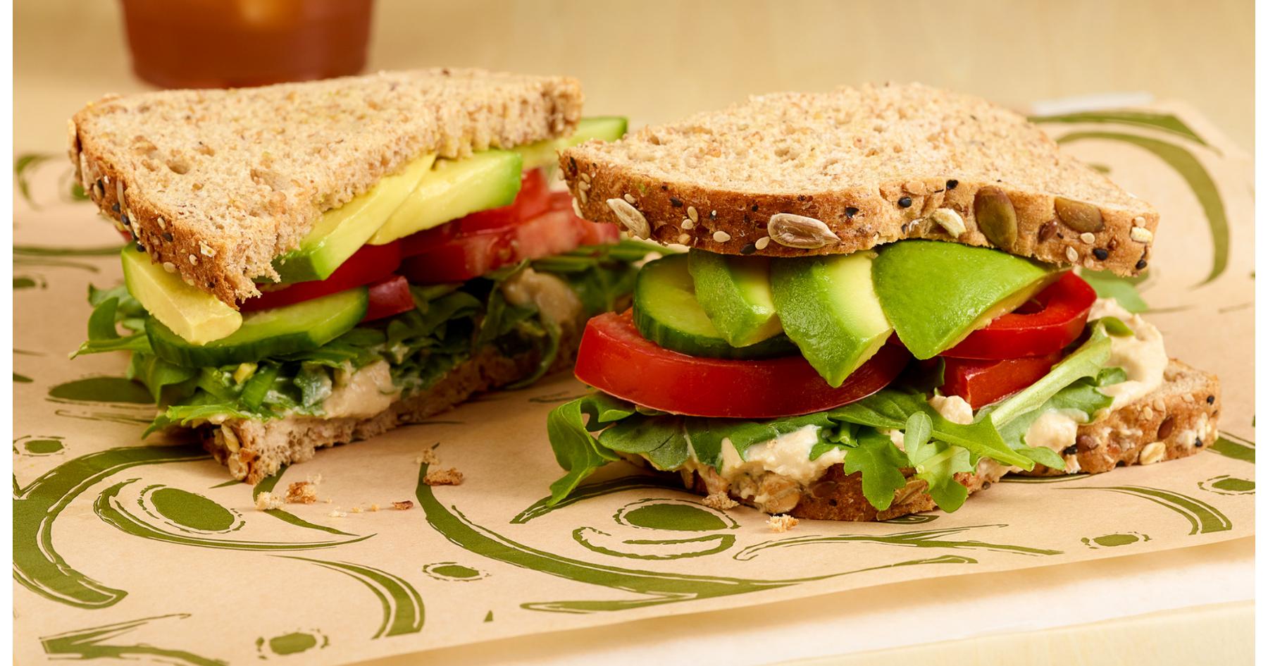 Hungry Hippie Sandwich