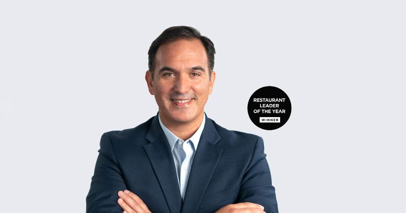 José Cil is the Restaurant Leader of the Year