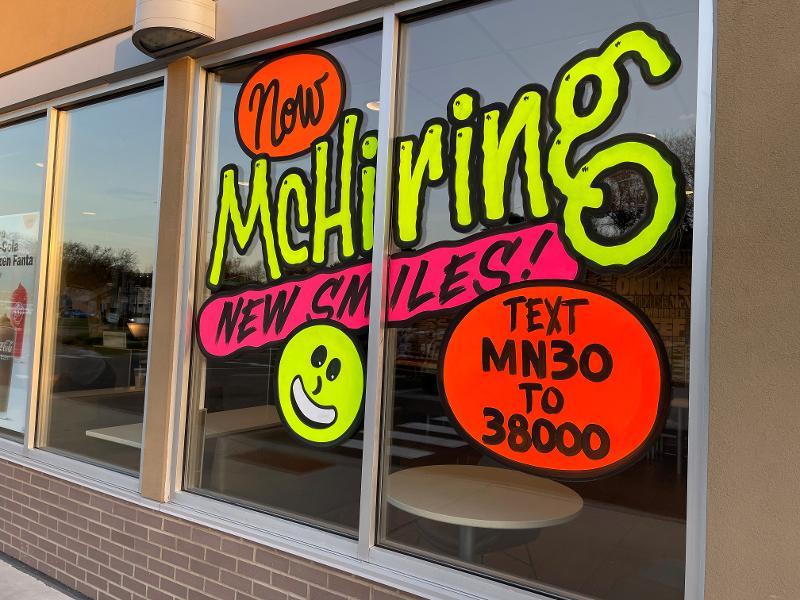 Restaurant job openings