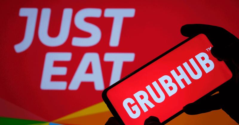 JET and Grubhub logos
