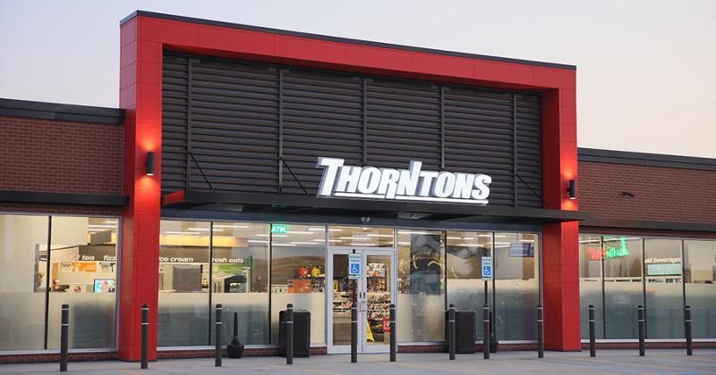 Thorntons store