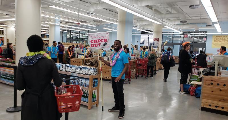 Trader Joe's SoHo checkout