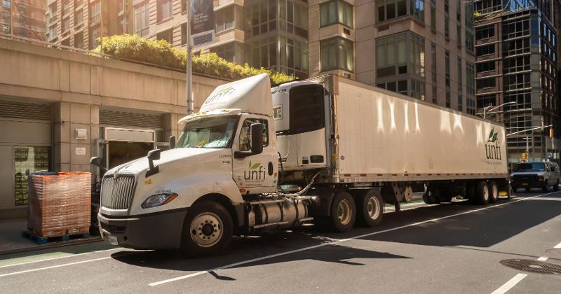 UNFI truck