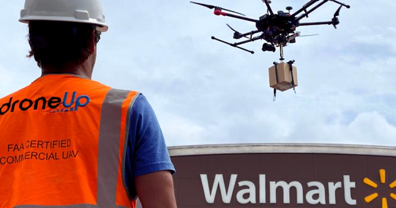 Walmart drone delivery