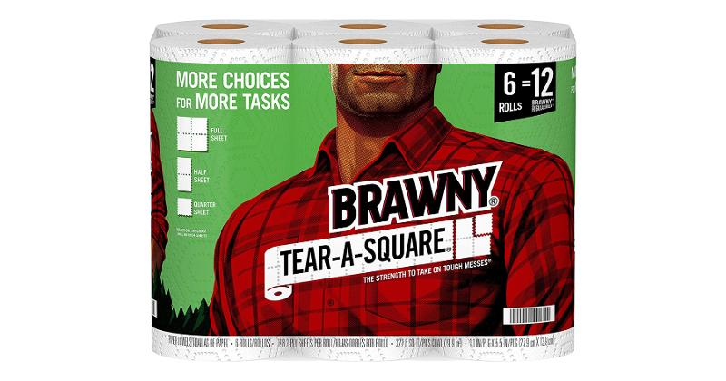 Brawny Tear-A-Square