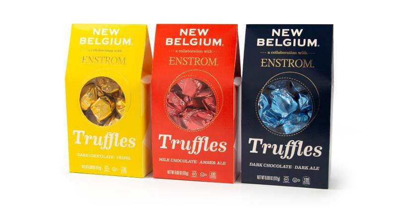 Enstrom + New Belgium Truffles