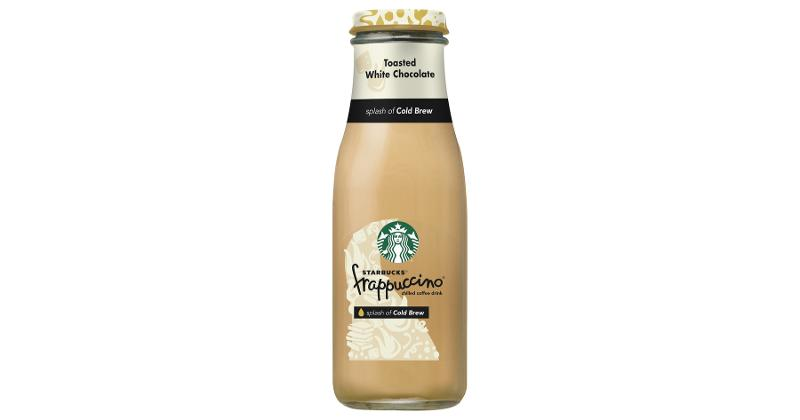 Starbucks Frappuccino with a splash of Cold Brew