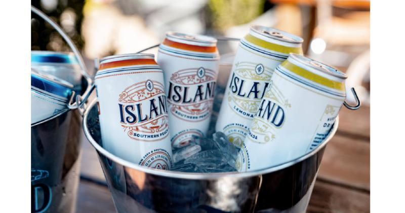 Island Southern Peach and Island Lemonada