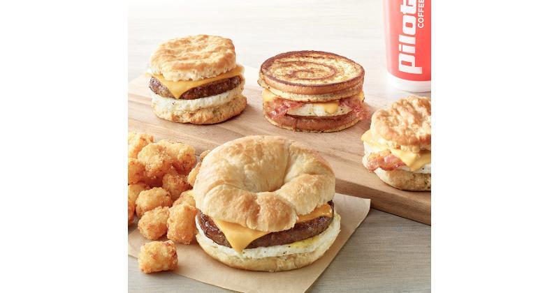 PIlot Flying J breakfast sandwiches