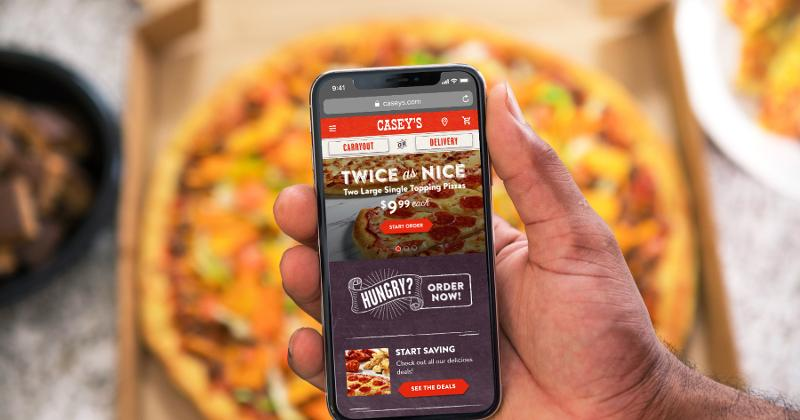 casey's mobile pizza
