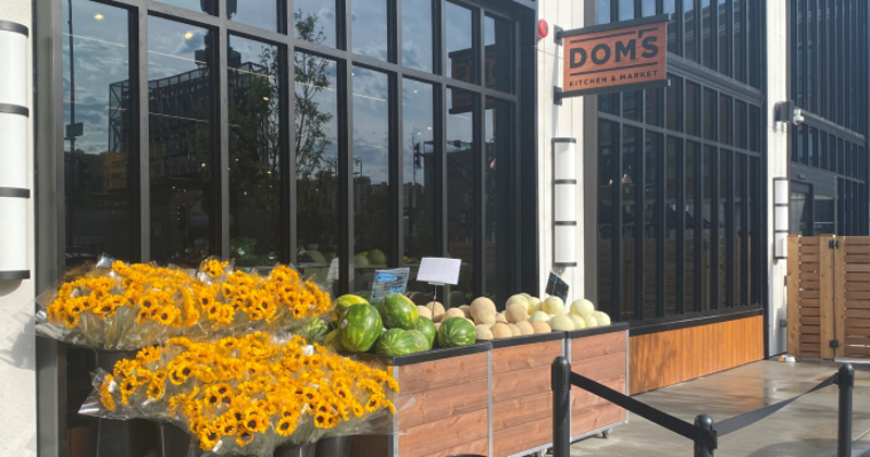 Dom's Kitchen & Market exterior