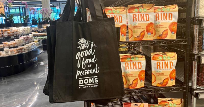 Dom's Kitchen & Market bags