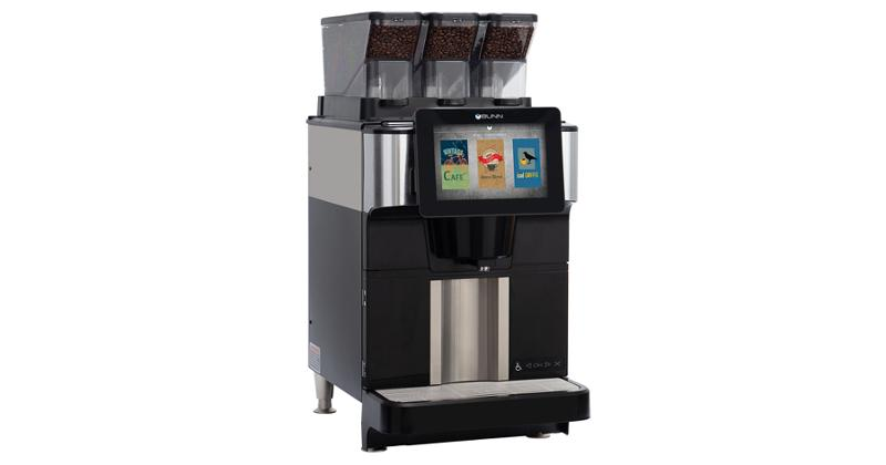 Bunn-O-Matic's Fast Cup coffee brewer