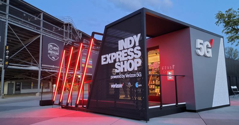 aifi indy express shop Indianapolis 500