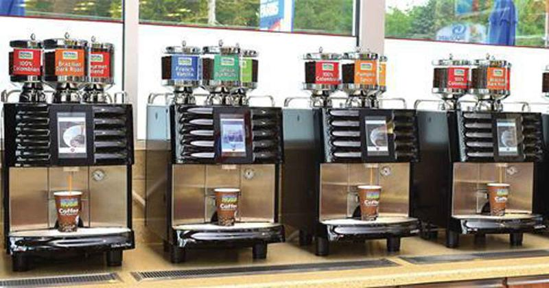 Royal Farms' bean-to-cup brewing system