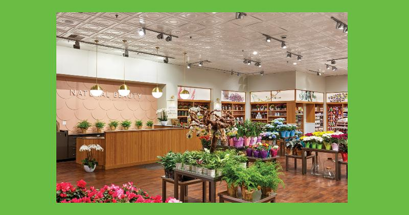 Natural Beauty department, O-N-E Market