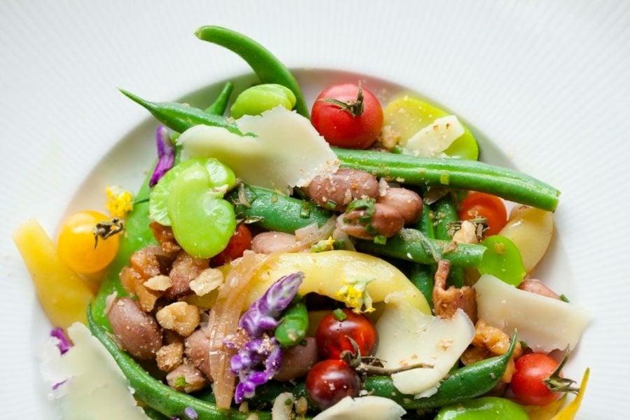 Market bean salad