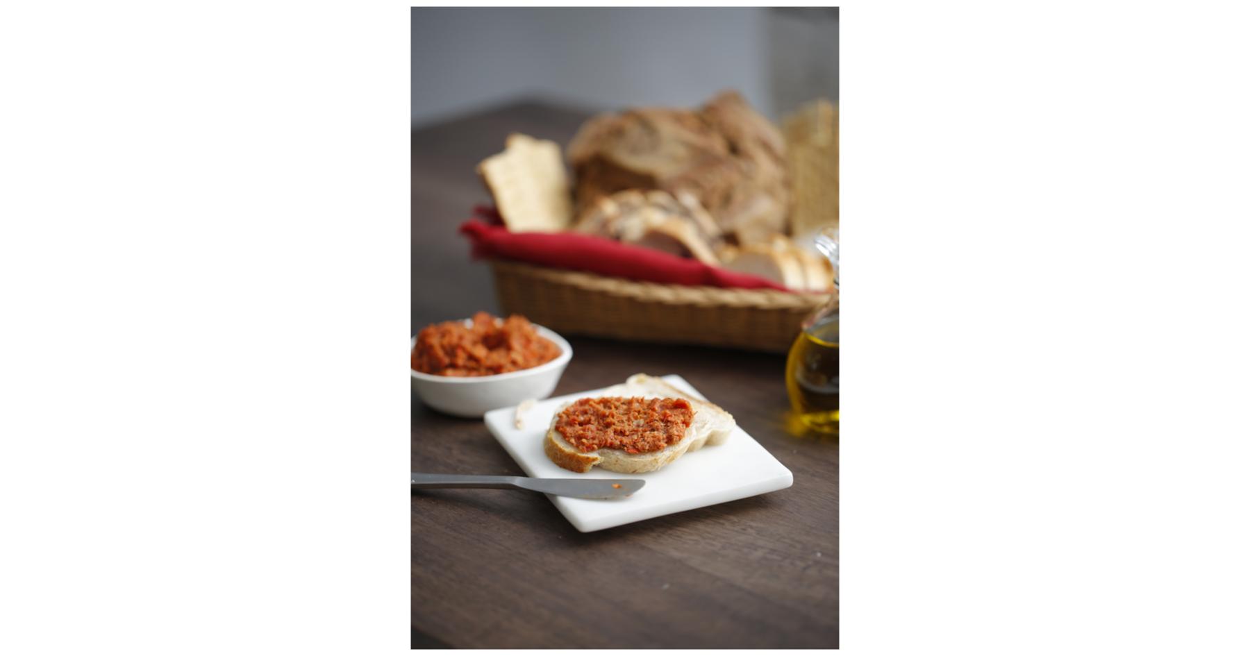 Spicy prosciutto spread