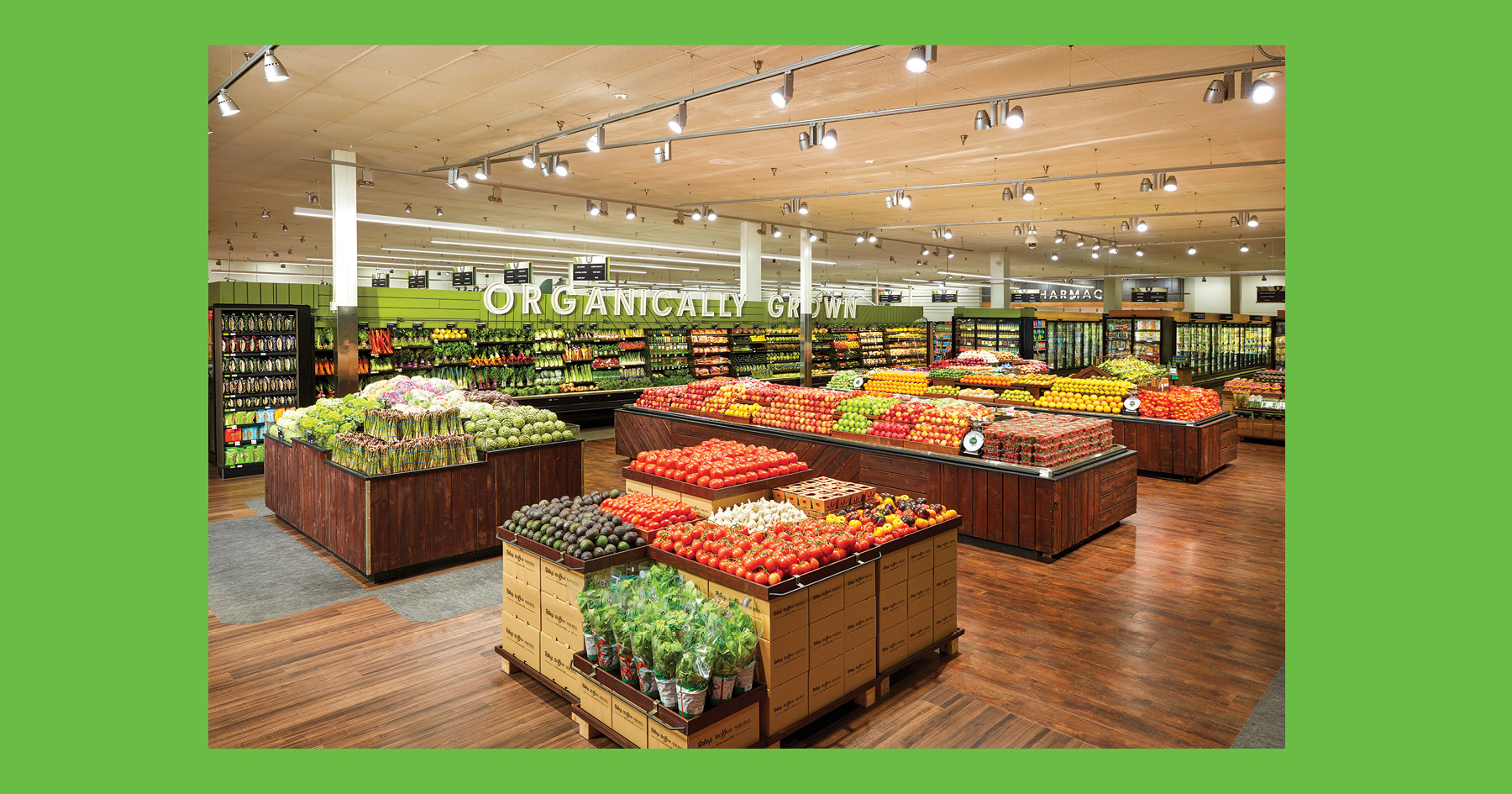 Produce department, O-N-E Market