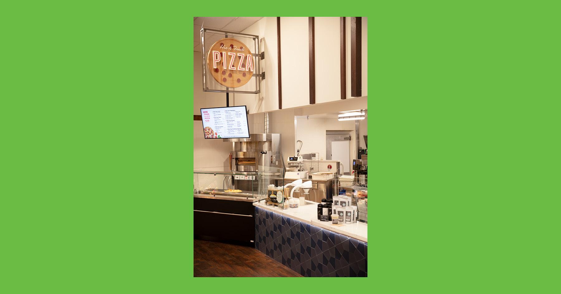 Pizza, O-N-E Market