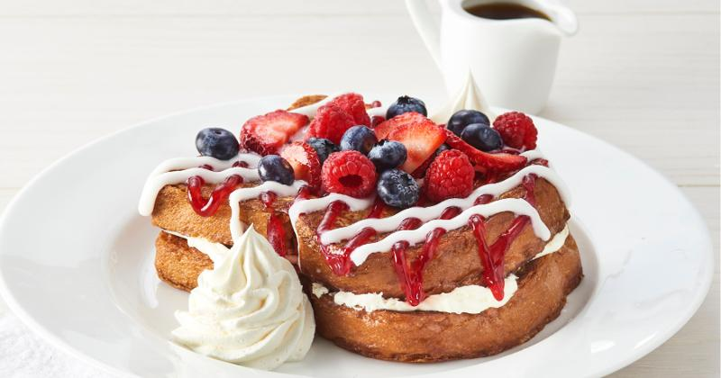 Berry Bliss Stuffed French Toast