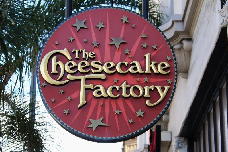 Cheesecake factory marketing