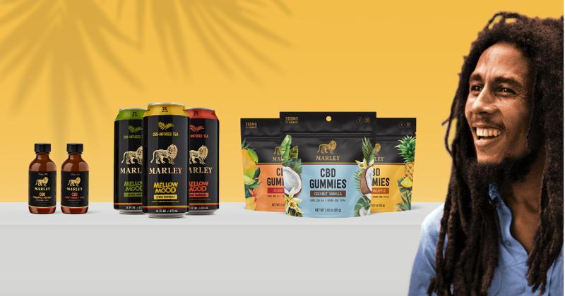 Docklight Brands' Marley CBD products