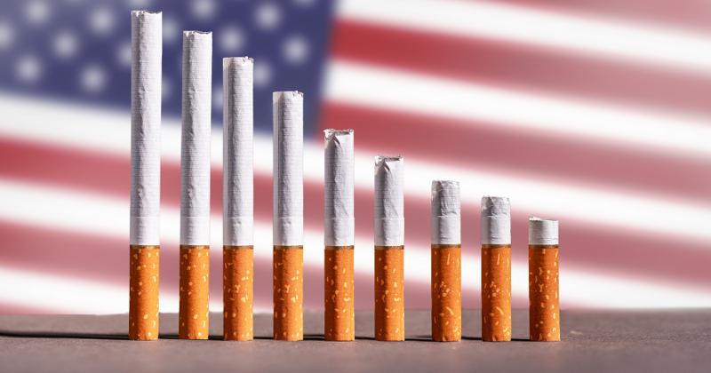 nicotine declines