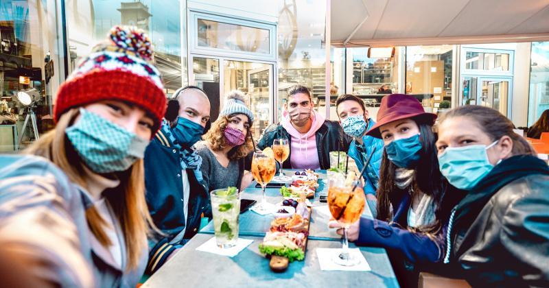 restaurants facemask mandates