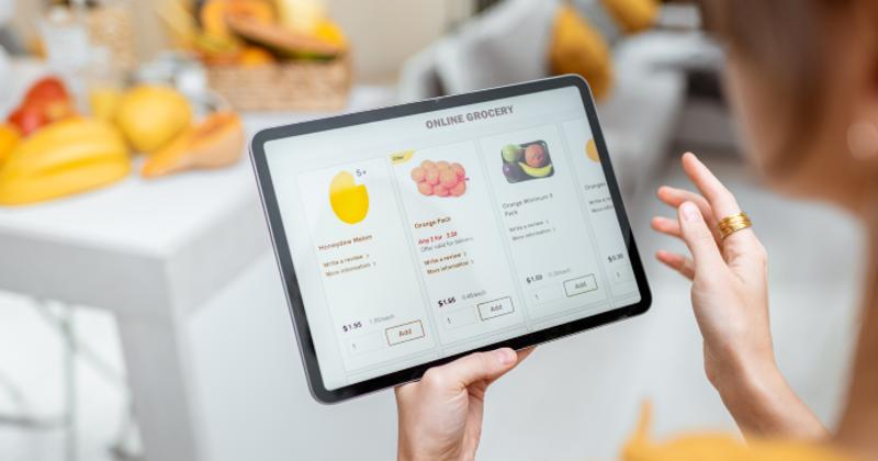 ordering fresh produce online