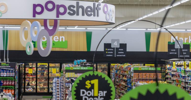 Popshelf at Dollar General