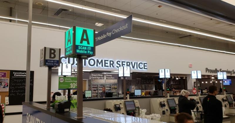 Stop & Shop checkout