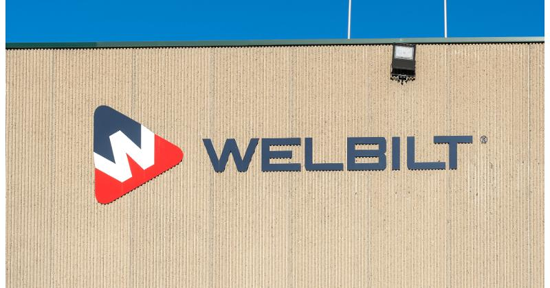 Welbilt signage on a building