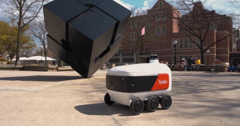Yandex delivery rover