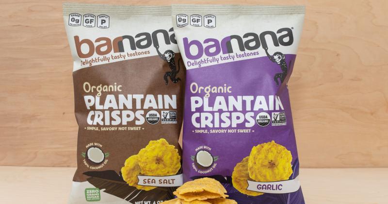 Organic Plantain Crisps